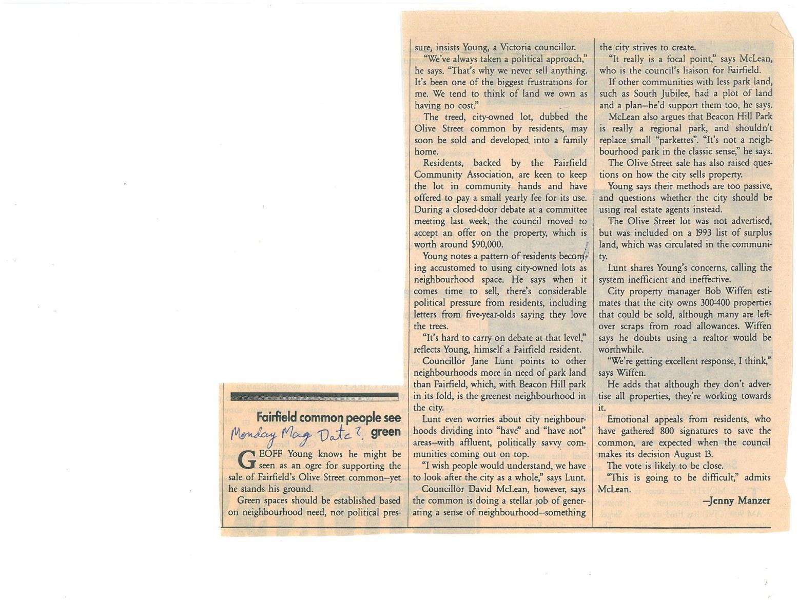 July-1998-Fairfield-Common-People-See-Green-Jenny-Manzer-Monday-Magazine-1
